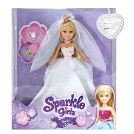 Sparkle Girlz menyasszony baba - 30 cm