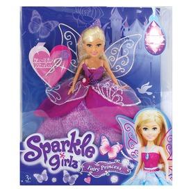 Sparkle Girlz tündér hercegnő baba - 30 cm