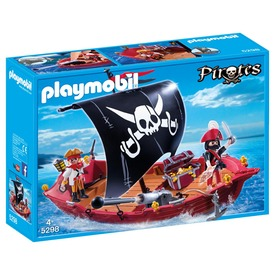 Playmobil A rettegett Fekete Portya 5298