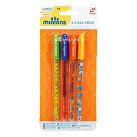 Minion zselés toll 4 darabos készlet