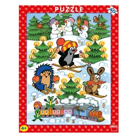 Kisvakond karácsonya 40 darabos puzzle Itt egy ajánlat található, a bővebben gombra kattintva, további információkat talál a termékről.