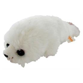 Fóka plüssfigura - fehér, 20 cm