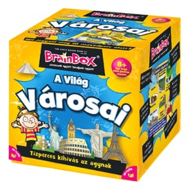 BrainBox - A Világ városai társasjáték Itt egy ajánlat található, a bővebben gombra kattintva, további információkat talál a termékről.