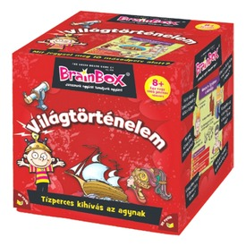 BrainBox - Világtörténelem társasjáték Itt egy ajánlat található, a bővebben gombra kattintva, további információkat talál a termékről.