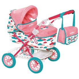 Baby Born luxus fekvő babakocsi