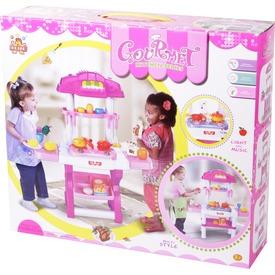 Játék konyha, zenél, világít, 65x26x75 cm Itt egy ajánlat található, a bővebben gombra kattintva, további információkat talál a termékről.