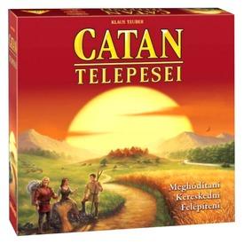 Új Catan telepesei stratégiai társas  Itt egy ajánlat található, a bővebben gombra kattintva, további információkat talál a termékről.