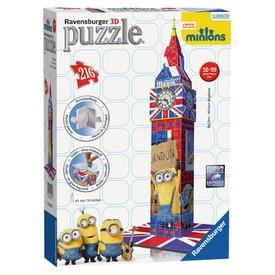 Minion Big Ben 216 darabos 3D puzzle Itt egy ajánlat található, a bővebben gombra kattintva, további információkat talál a termékről.