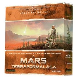 A Mars terraformálása társasjáték Itt egy ajánlat található, a bővebben gombra kattintva, további információkat talál a termékről.