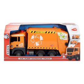 Dickie kukásautó pumpával - narancssárga, 55 cm