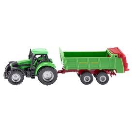 Siku: Deutz traktor univerzális utánfutóval 1:87 - 1673 Itt egy ajánlat található, a bővebben gombra kattintva, további információkat talál a termékről.