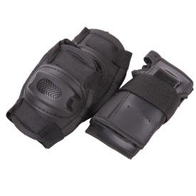 Térd és könyökvédő készlet - fekete, többféle