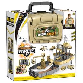 Parkolóház katonai járművekkel táskában Itt egy ajánlat található, a bővebben gombra kattintva, további információkat talál a termékről.