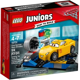 LEGO® Juniors Cruz Ramirez szimulátora 10731 Itt egy ajánlat található, a bővebben gombra kattintva, további információkat talál a termékről.