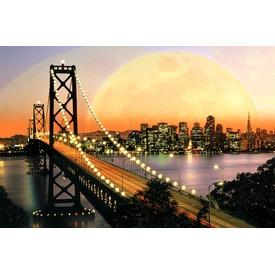 San Francisco 3000 darabos panoráma puzzle
