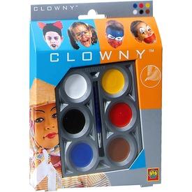 Clowny - arcfestő 6 színű Itt egy ajánlat található, a bővebben gombra kattintva, további információkat talál a termékről.