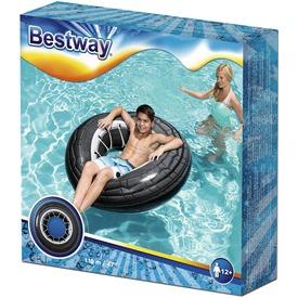 Bestway 36102 Autókerék mintás úszógumi - 119 cm
