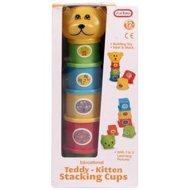 Teddy maci toronyépítő