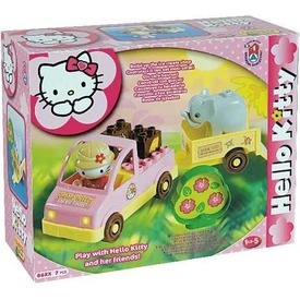 Hello Kitty mini szafari építőjáték