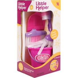 Dobozos takarító készlet - rózsaszín