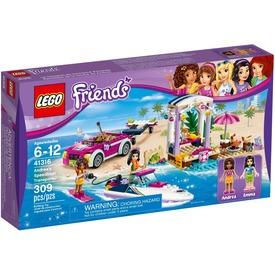 LEGO® Friends Andrea motorcsónak szállítója 41316 Itt egy ajánlat található, a bővebben gombra kattintva, további információkat talál a termékről.
