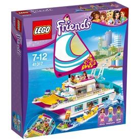 LEGO® Friends Napsütötte katamarán 41317