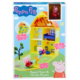 PEPPA Nagy házikó kerttel PEP