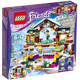 LEGO® Friends Jégpálya a havas üdülőhelyen 41322
