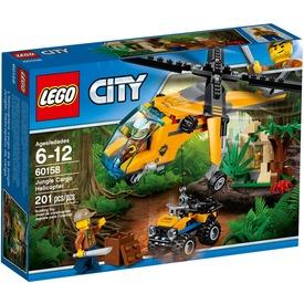 LEGO City Dzsungel teherszállító helikopter 60158 Itt egy ajánlat található, a bővebben gombra kattintva, további információkat talál a termékről.