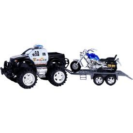 Lendkerekes rendőrségi jármű szett motorral Itt egy ajánlat található, a bővebben gombra kattintva, további információkat talál a termékről.