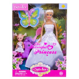 Defa Lucy hercegnő baba kislánnyal és pónival - többféle Itt egy ajánlat található, a bővebben gombra kattintva, további információkat talál a termékről.