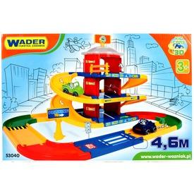Wader Kid Cars 3D 3 szintes parkoló autópálya