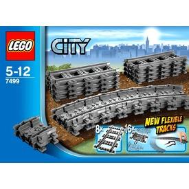 LEGO City Rugalmas sínek 7499 Itt egy ajánlat található, a bővebben gombra kattintva, további információkat talál a termékről.