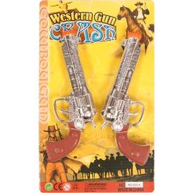 Cowboy pisztoly 2 darabos készlet
