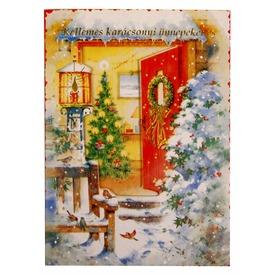 Zenélő karácsonyi képeslap Itt egy ajánlat található, a bővebben gombra kattintva, további információkat talál a termékről.