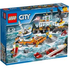 LEGO® City A parti őrség főhadiszállása 60167