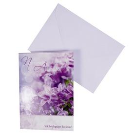 Virágos képeslap borítékkal - többféle Itt egy ajánlat található, a bővebben gombra kattintva, további információkat talál a termékről.