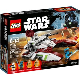 LEGO Star Wars Köztársasági Fighter Tank 75182 Itt egy ajánlat található, a bővebben gombra kattintva, további információkat talál a termékről.