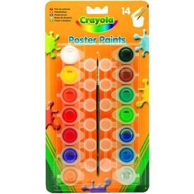 Crayola: 14 darabos tempera ecsettel