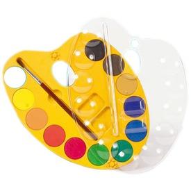 Crayola: palettás vízfesték ecsettel