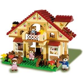 Maximilian Family macik háza építőjáték