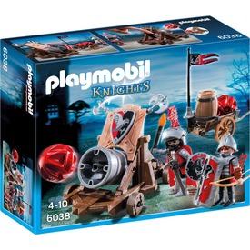 Playmobil Tűzgolyós ágyú lovagokkal 6038
