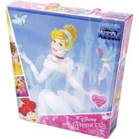 Disney hercegnők 4 x 24 darabos puzzle