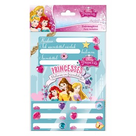 Zsúrmeghívó matricás Princess  Itt egy ajánlat található, a bővebben gombra kattintva, további információkat talál a termékről.