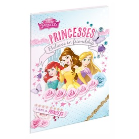 Papírfedeles notesz A7 Princess
