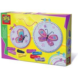 SES pillangó hímzőkészlet