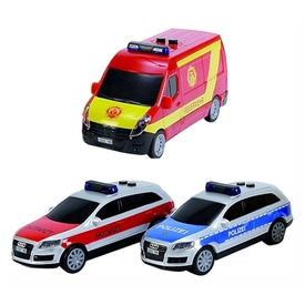 Dickie magyar sürgősségi autó - 14 cm, többféle