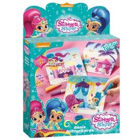 Shimmer and Shine képeslap készítő készlet