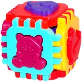 Formaválogató kocka 12 darabos bébijáték - 12 cm Itt egy ajánlat található, a bővebben gombra kattintva, további információkat talál a termékről.