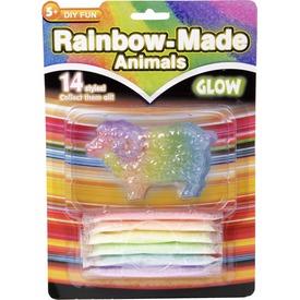 Szivárvány állat fluoreszkáló készlet - többféle